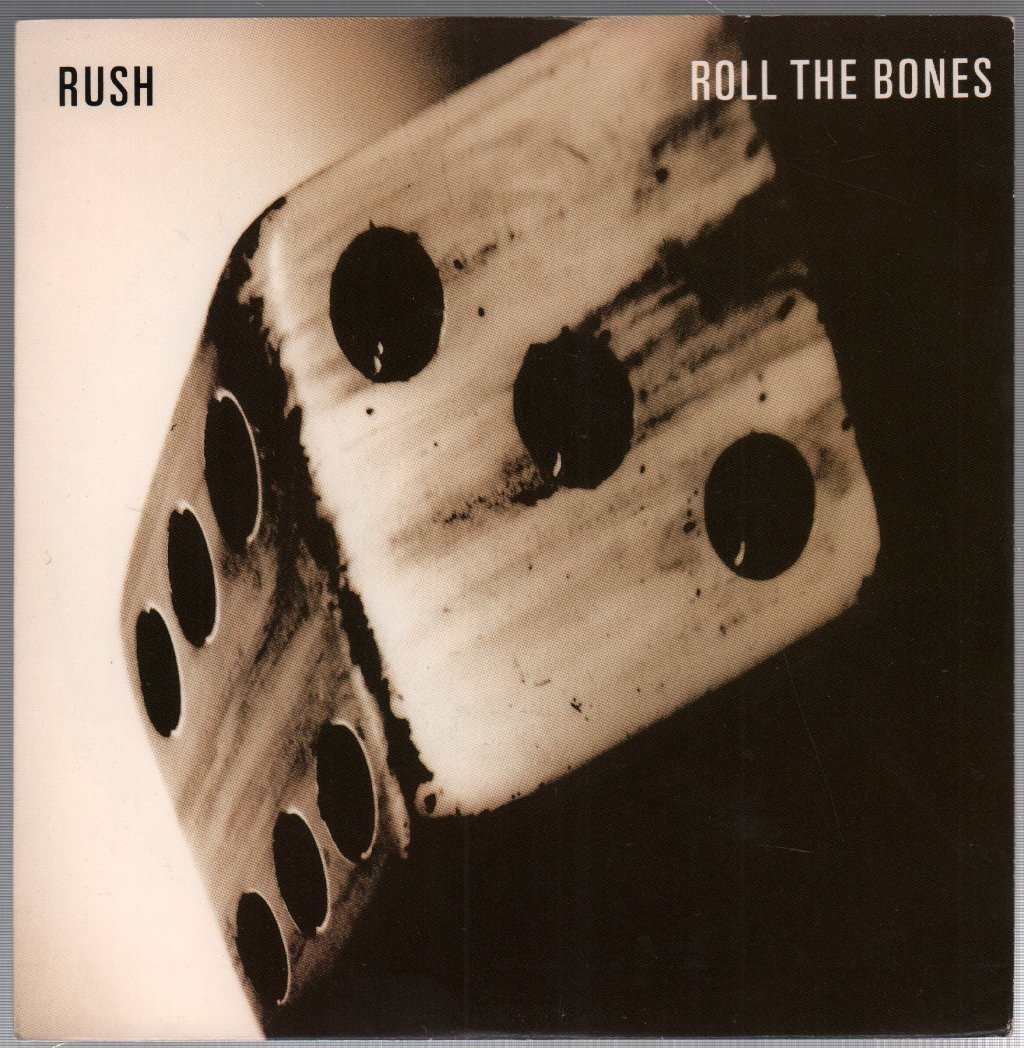RUSH - Roll the Bones - 45T (SP 2 titres)