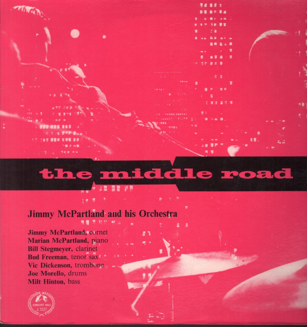 JIMMY MCPARTLAND AND HIS ORCHESTRA - Middle Road - 33T