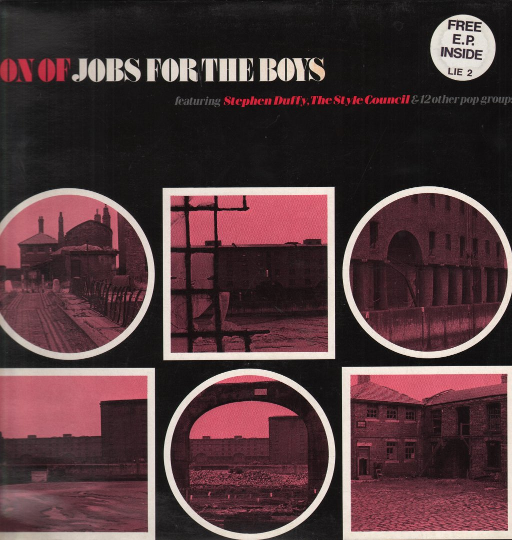 SON OF JOBS FOR THE BOYS - Various - 33T