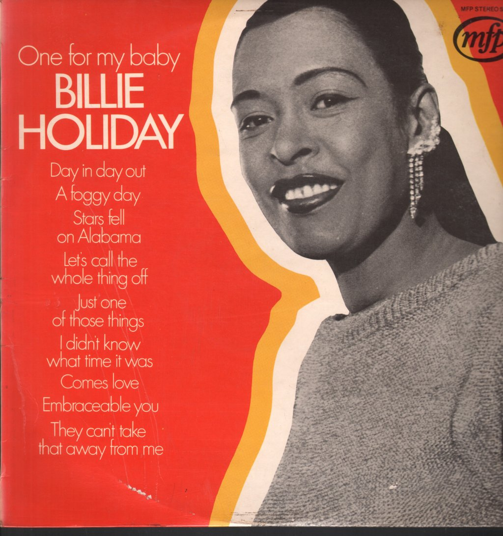 BILLIE HOLIDAY - One For My Baby - 33T