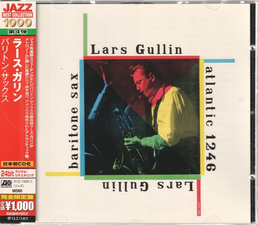 LARS GULLIN - Baritone Sax - CD