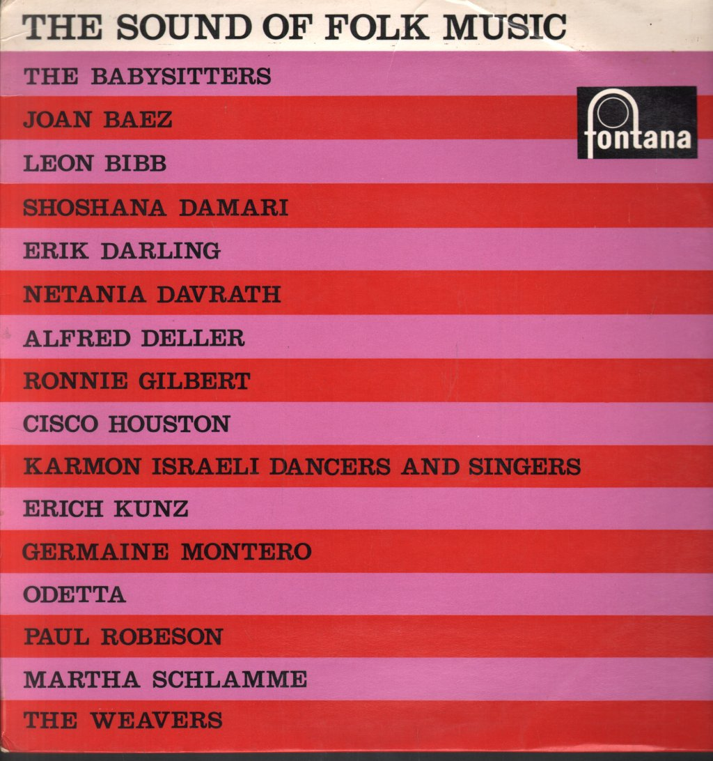 SOUND OF FOLK MUSIC - Various - 33T