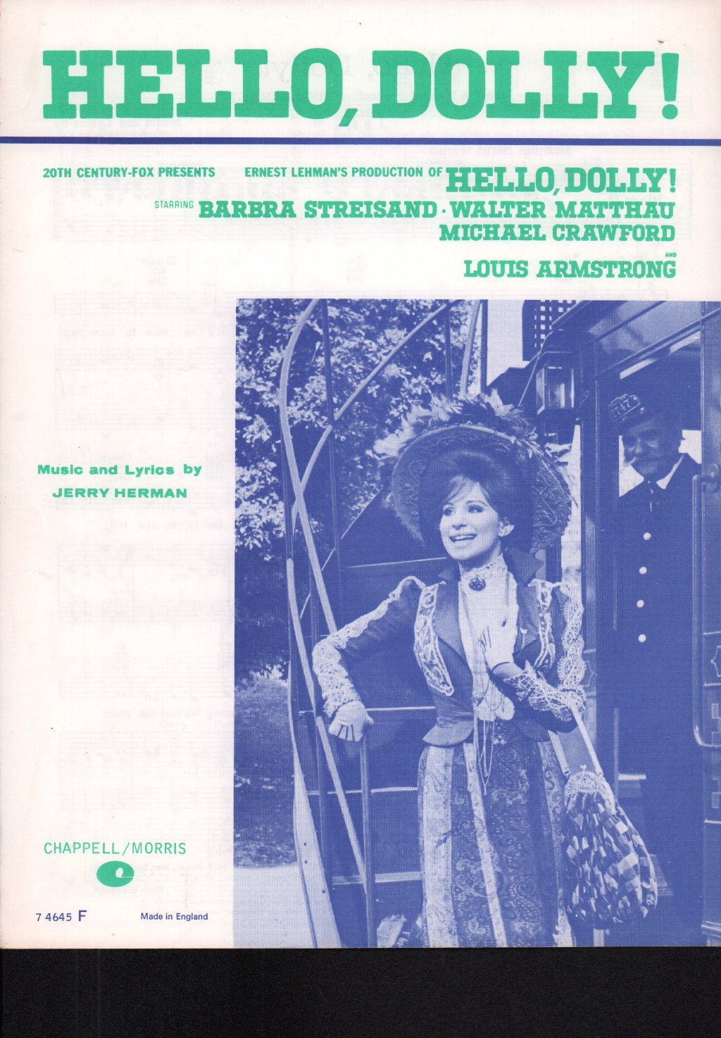 BARBRA STREISAND - Hello Dolly - Sheet
