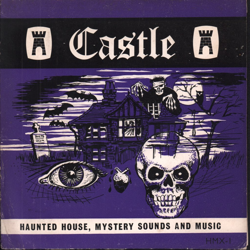 F.C. JUDD - Haunted House Mystery Sounds - 45T (SP 2 titres)