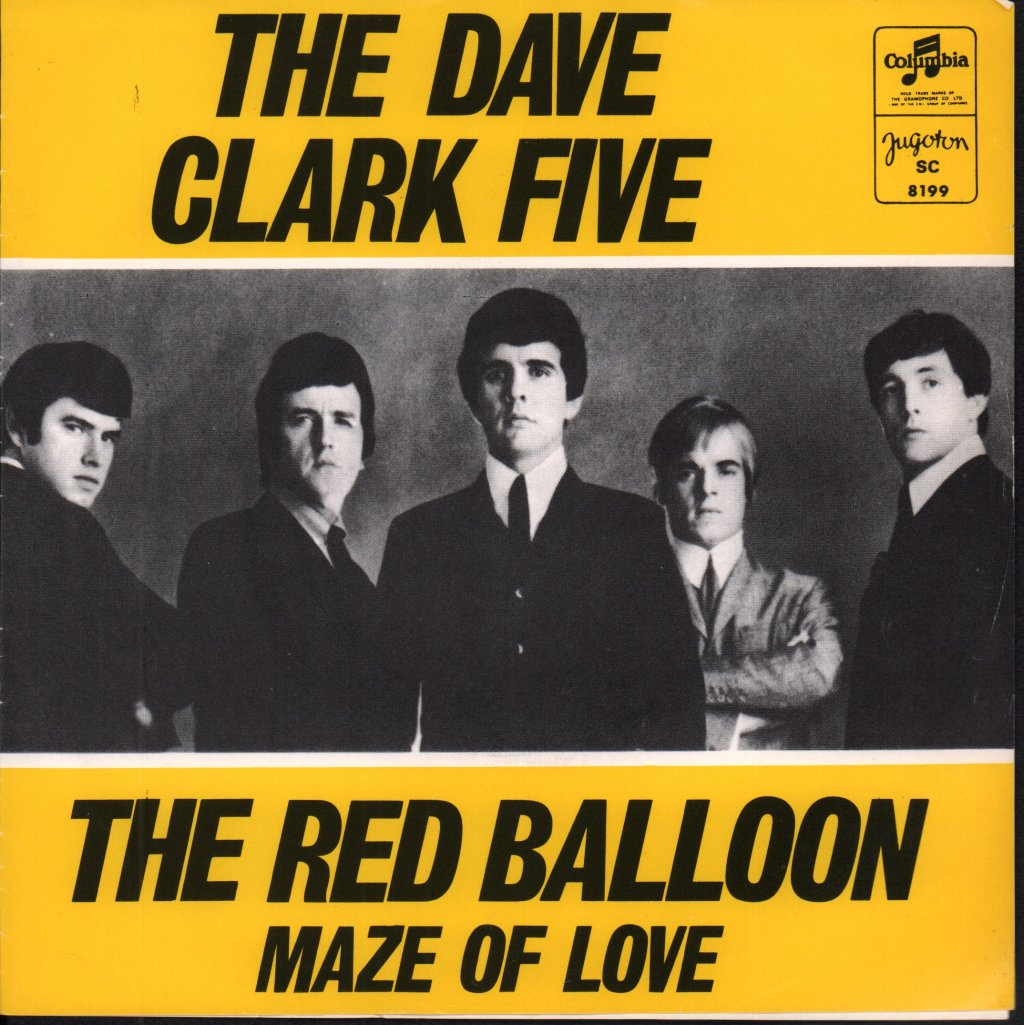 DAVE CLARK FIVE - Red Balloon - 7inch (SP)
