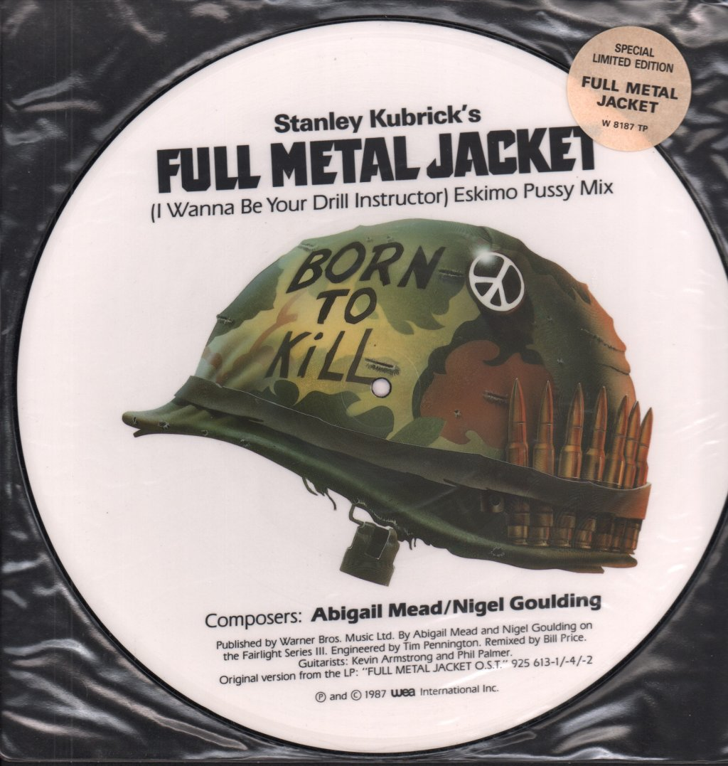 ABIGAIL MEAD AND NIGEL GOULDING - Full Metal Jacket - 12 inch 45 rpm