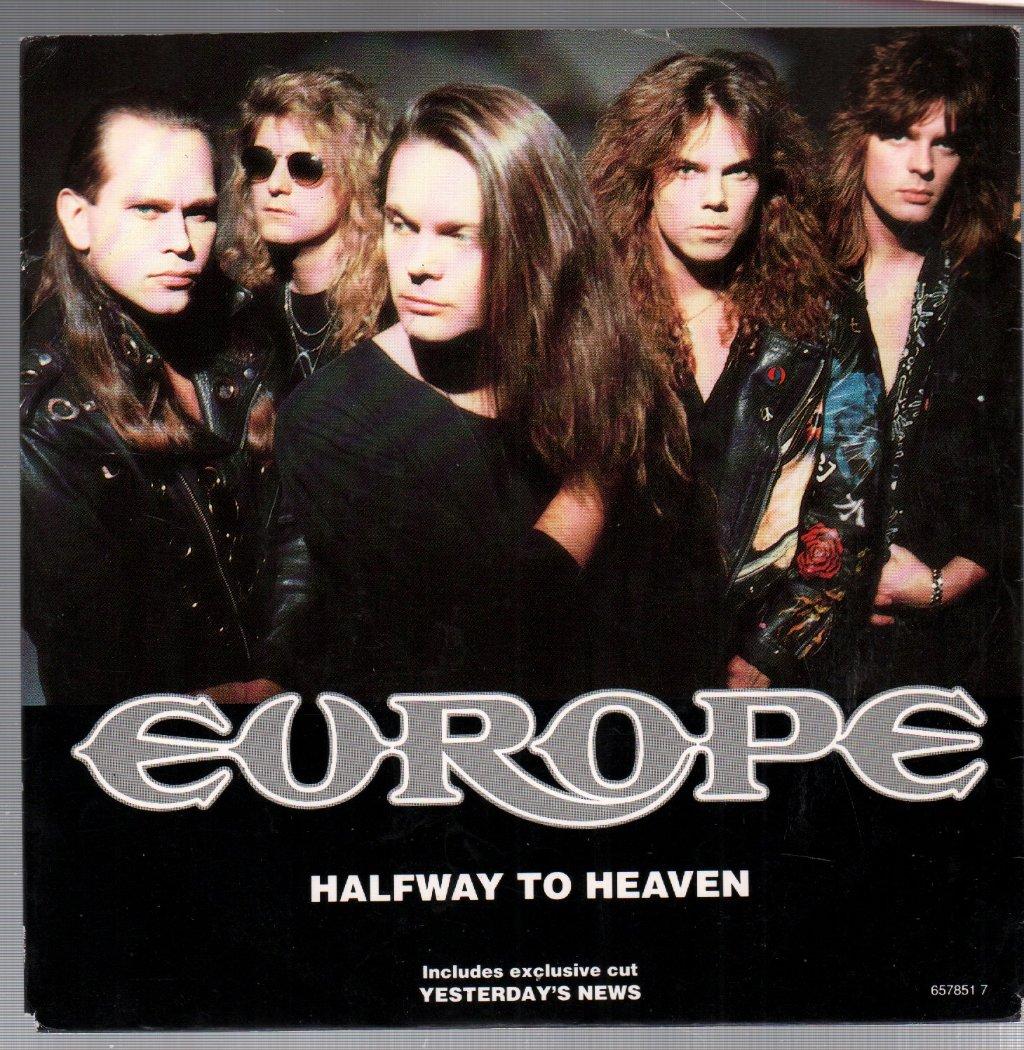 EUROPE - Halfway To Heaven - 45T (SP 2 titres)