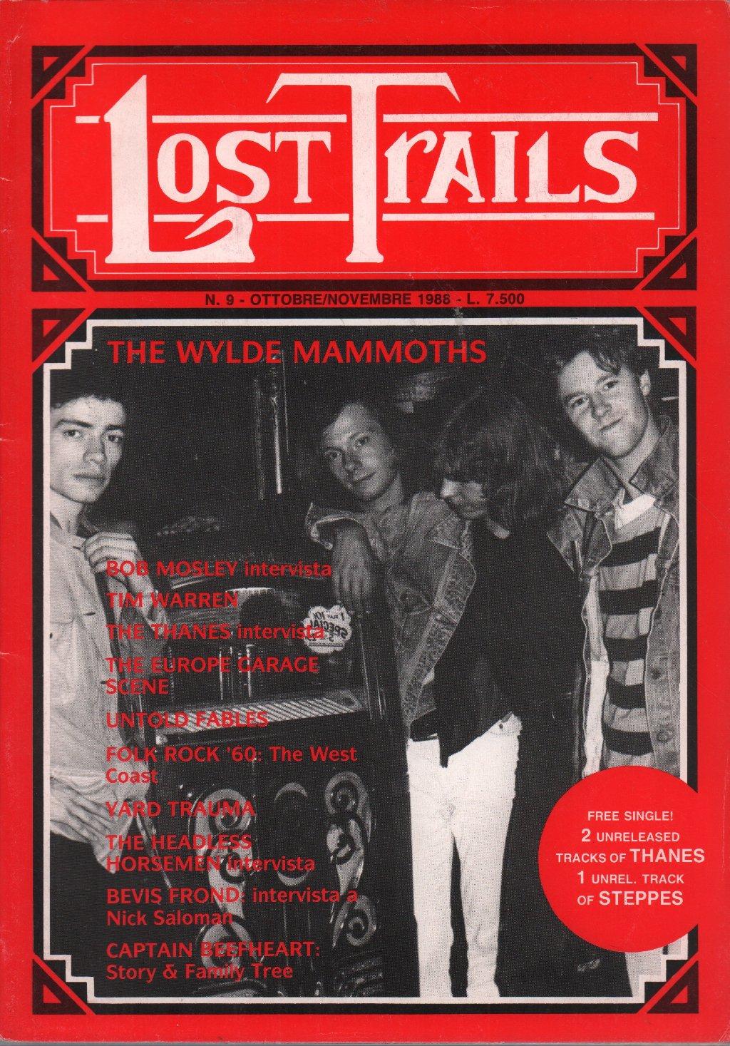 LOST TRAILS - No. 9 October/November 1988 - Magazine