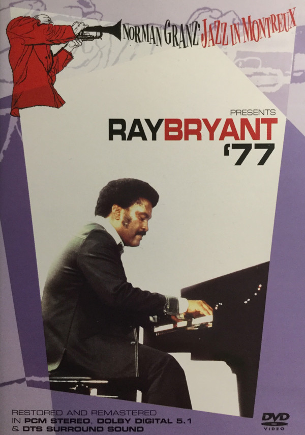 RAY BRYANT - Norman Granz' Jazz In Montreux Presents Ray Bryant '77 - DVD