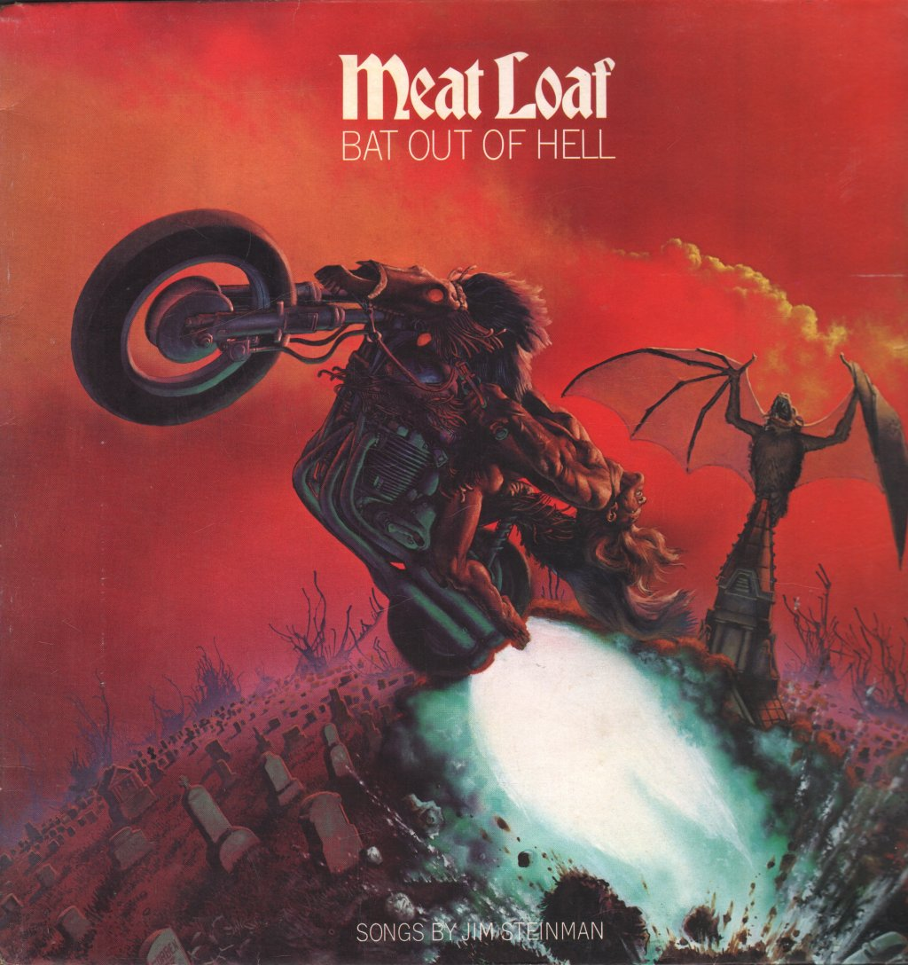 MEAT LOAF - Bat Out of Hell - 33T