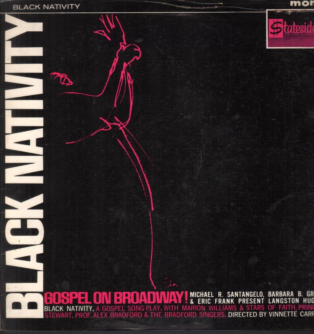 BLACK NATIVITY - Original Cast Gospel On Broadway - LP