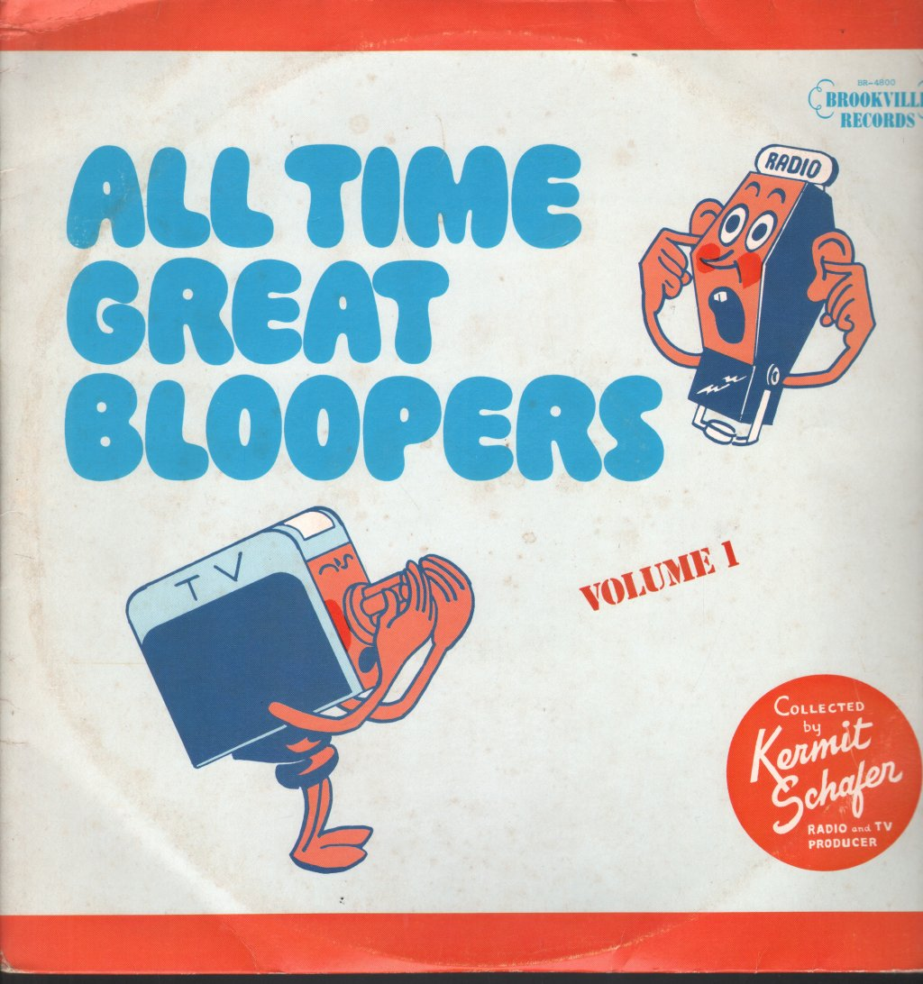 KERMIT SCHAFER - All Time Great Bloopers Volume 1 - 33T x 2