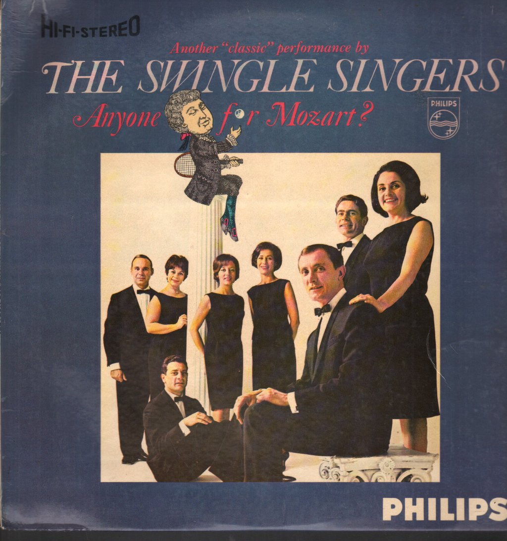 Les Swingle Singers Anyone For Mozart?