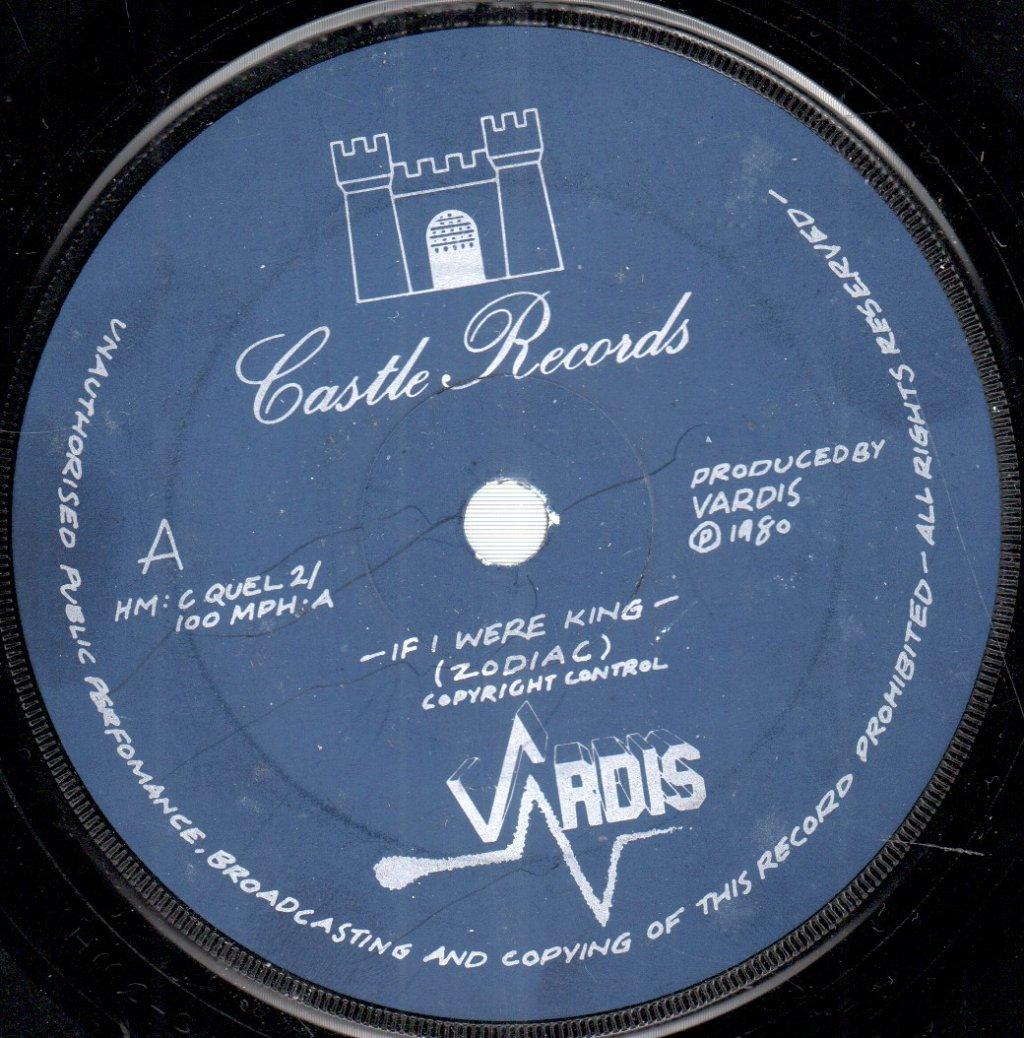 VARDIS - If I Were King - 45T (SP 2 titres)