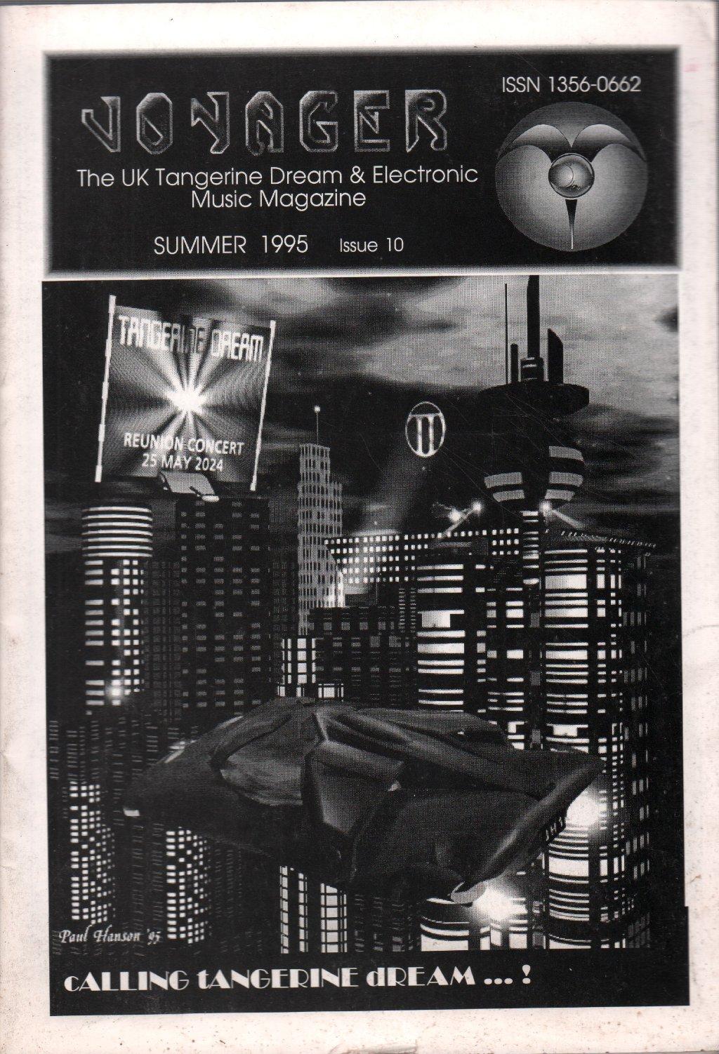 TANGERINE DREAM - Voyager Issue 10 - Magazine