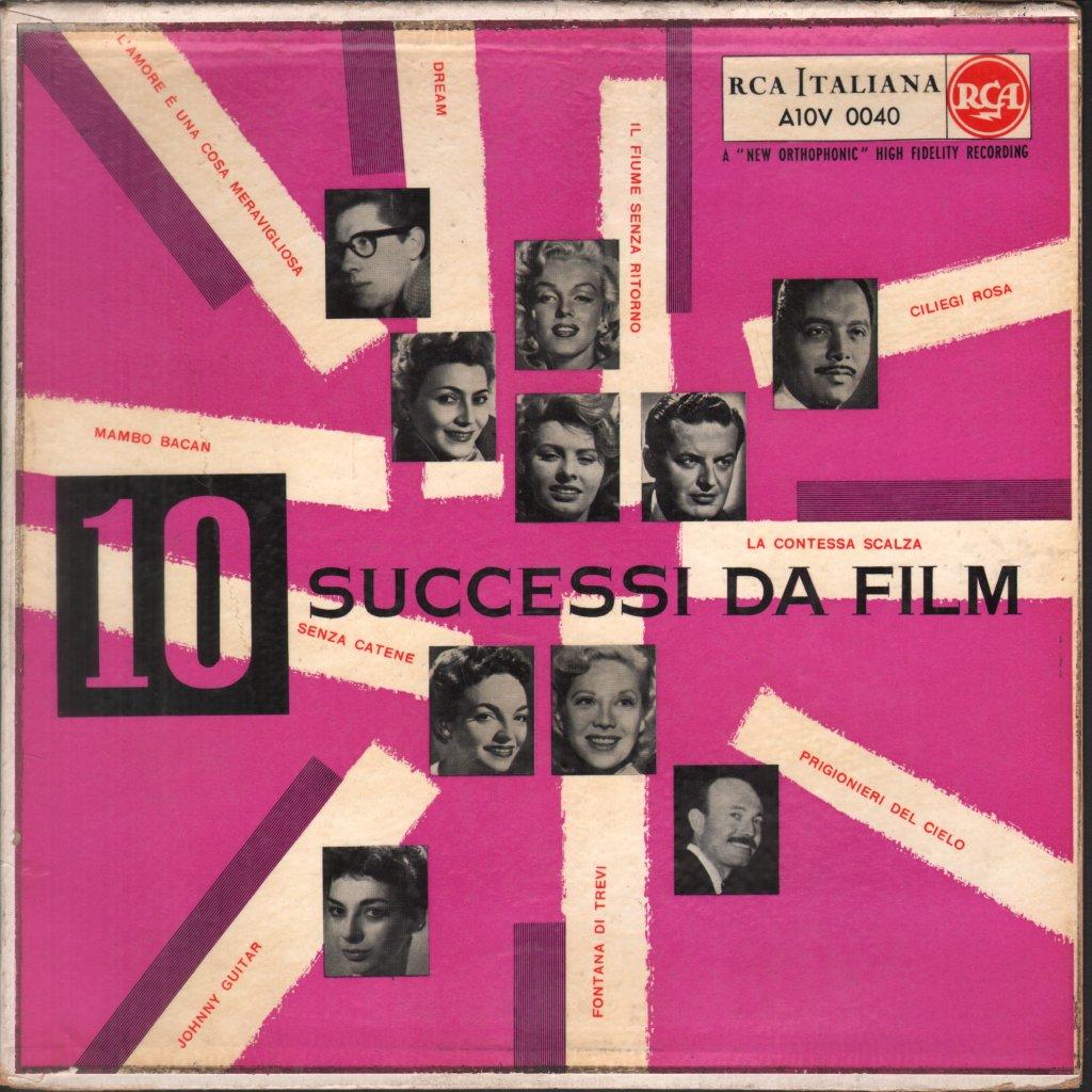 10 SUCCESSI DA FILM - Various Artists - 10 inch