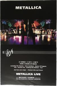 METALLICA - S&m - Poster / Affiche