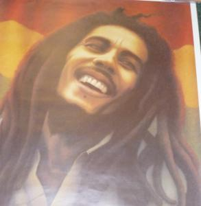 BOB MARLEY AND THE WAILERS - Flag - Poster / Affiche