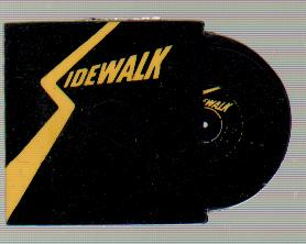 SIDEWALK - Record and Sleeve - Others
