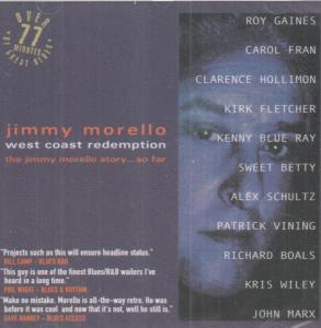 JIMMY MORELLO - West Coast Redemption - CD