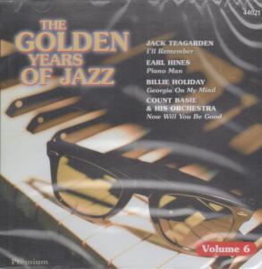 GOLDEN YEARS OF JAZZ VOLUME 6 - Various - CD