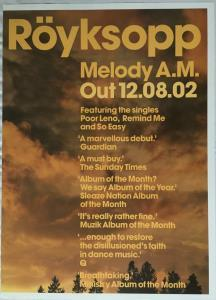 ROYKSOPP - Melody A.m. - Poster / Display