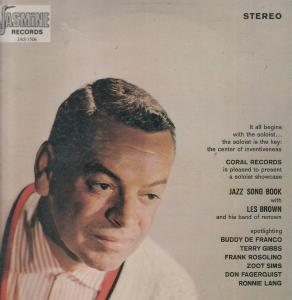 LES BROWN - Jazz Song Book - LP