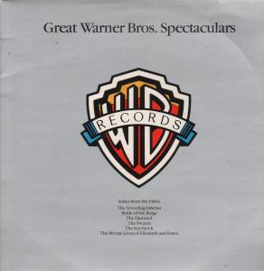 GREAT WARNER BROS SPECTACULARS - Various - 33T