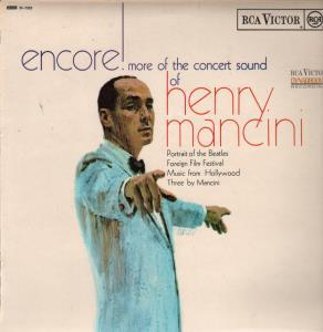 HENRY MANCINI AND HIS ORCHESTRA - Encore More of the Concert Sound of - LP