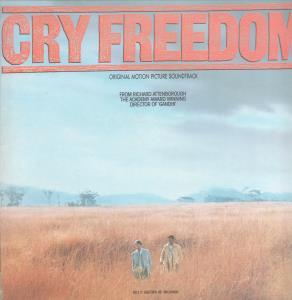 CRY FREEDOM SOUNDTRACK - Original Motion Picture Soundtrack - LP