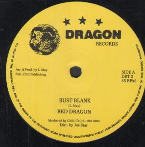 RED DRAGON - Bust Blank - Maxi 45T