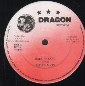 RED DRAGON - Baduff Baff - Maxi 45T