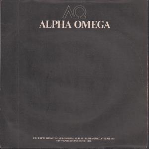 ALPHA OMEGA SAMPLER - Various - 45T (SP 2 titres)