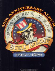 GRATEFUL DEAD - Built To Last 1965-1990 - Book