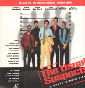USUAL SUSPECTS - S/T - Laser Disc