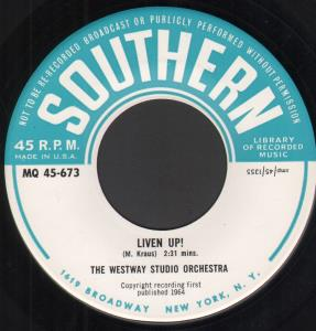 WESTWAY STUDIO ORCHESTRA - Liven Up - 7inch (SP)