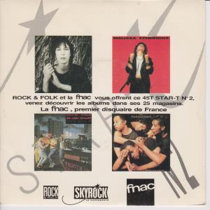 STAR T NO.2 - Various - 45T (SP 2 titres)