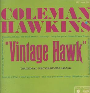 COLEMAN HAWKINS - Vintage Hawk - 33T