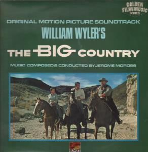 BIG COUNTRY (SOUNDTRACK) - Original Motion Picture Sountrack - LP
