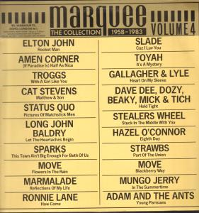 MARQUEE COLLECTION 1958-1983 VOLUME 4 - Various Artists - 33T
