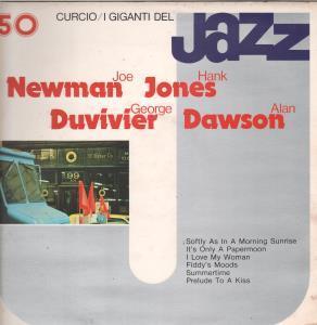 JOE NEWMAN/HANK JONES/GEORGE DUVIVIER/ALAN DAWSON - I Giganti Del Jazz 50 - LP