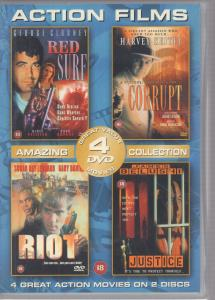 ACTION FILMS COLLECTION - S/T - DVD x 2