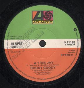 GOODY GOODY - #1 Dee Jay - 7inch (SP)