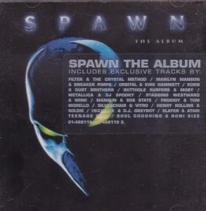 SPAWN THE ALBUM - Various - CD