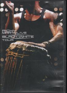RICKY MARTIN - Live - Black and White Tour - DVD