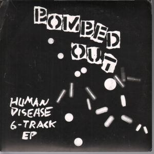 BOMBED OUT - Human Disease - 45T (SP 2 titres)