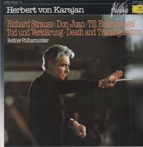 herbert von karajan / berlin philharmoniker richard strauss - don juan / till eulenspiegel