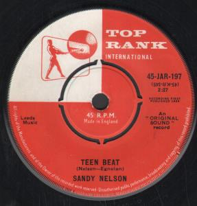 SANDY NELSON - Teen Beat - 7inch (SP)