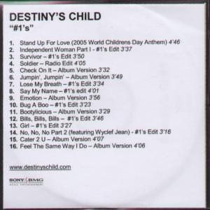 DESTINY'S CHILD - #1's - CD-ROM
