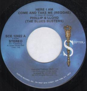 Phillip and Lloyd Here I Am Come and Take Me